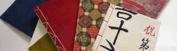 WATOJI Japanisch Buchbinden Upcycling Hefte