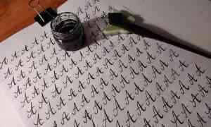 Kalligrafie (Einführung)